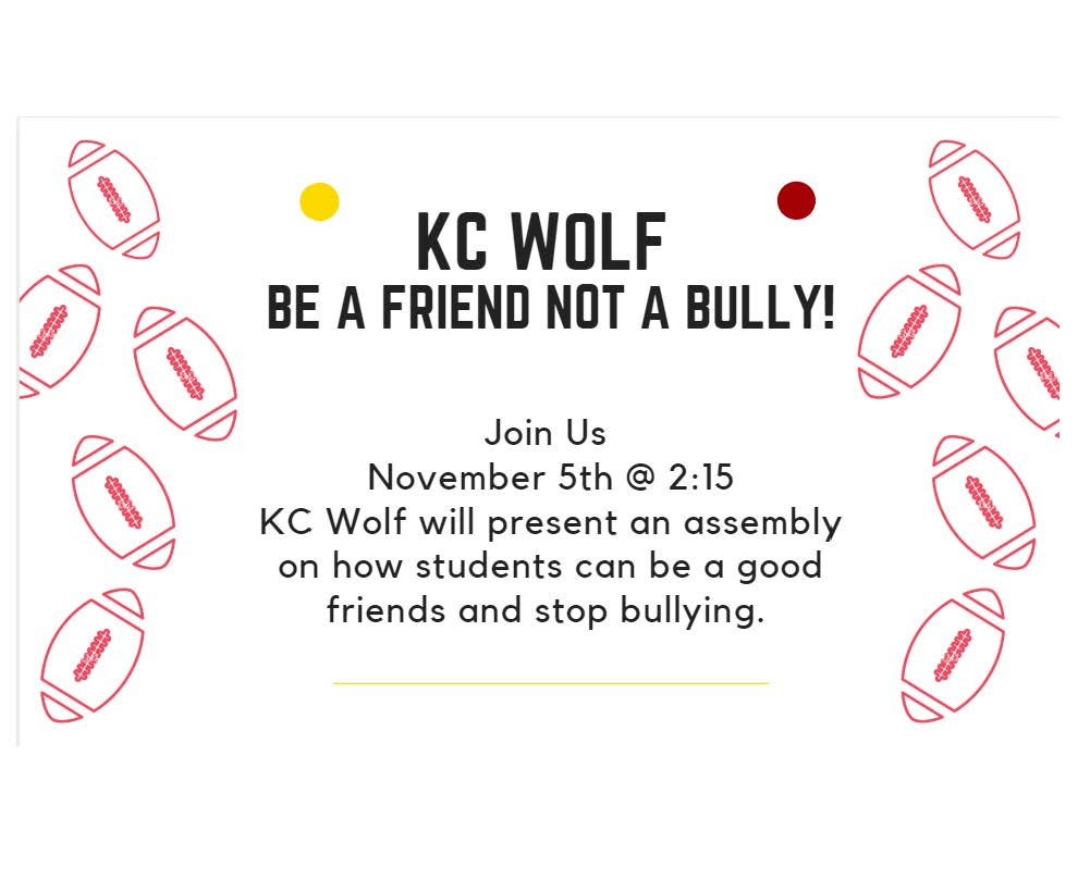 KC Wolf assembly invite