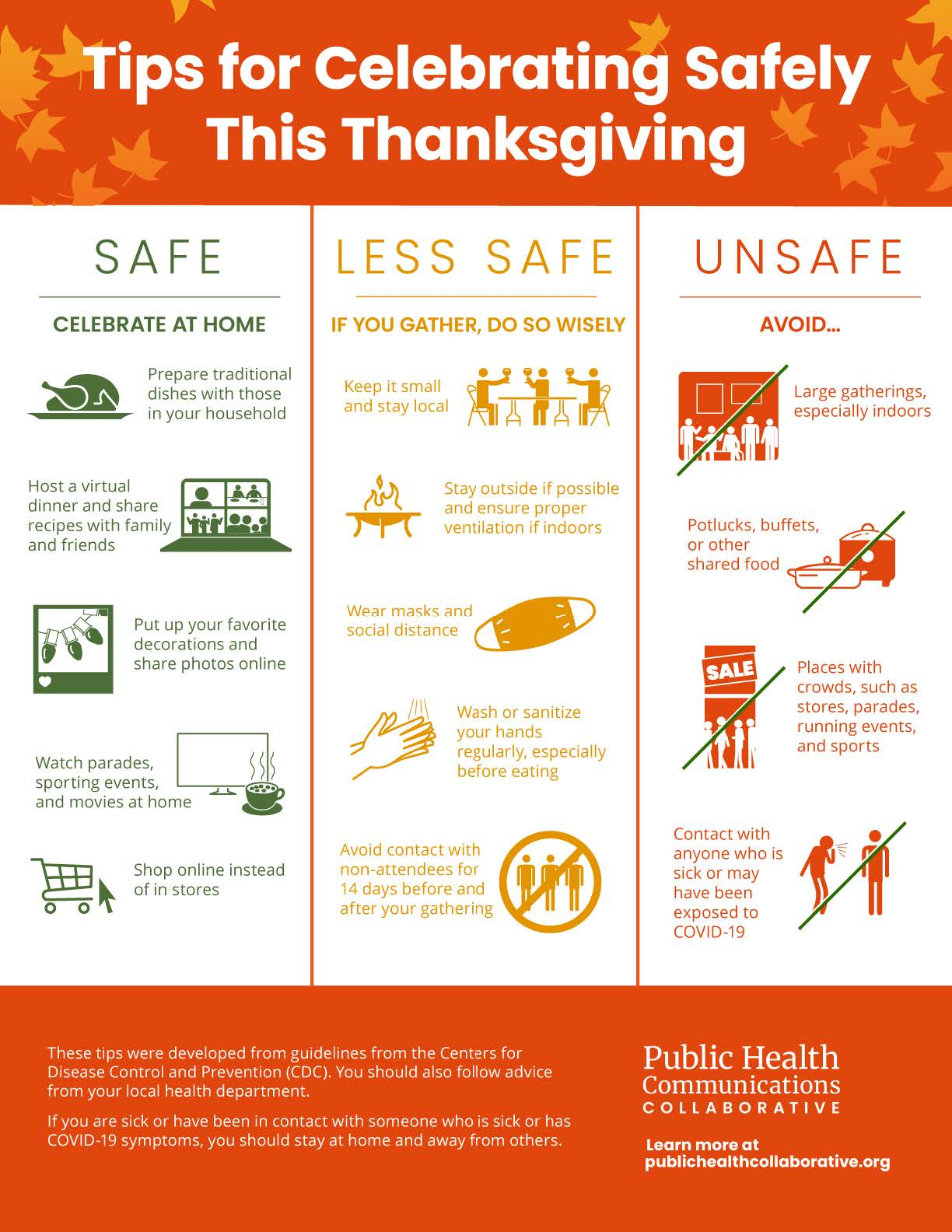 Tips for Celebrating safely this Thanksgiving holiday